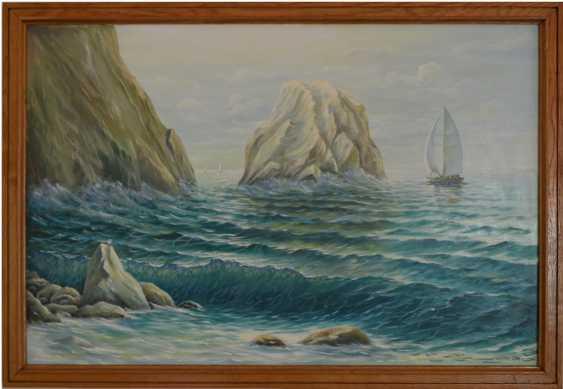 viktor shutka. sea rocks - photo 1