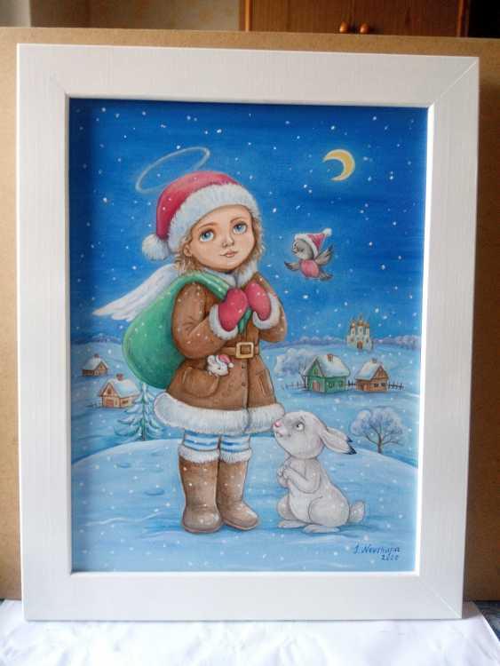 "Irina Nevshupa. painting ""Christmas Angel"" - photo 1"