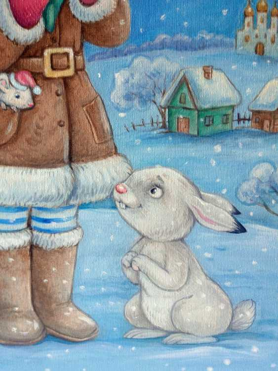 "Irina Nevshupa. painting ""Christmas Angel"" - photo 4"