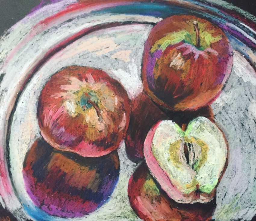 Skandibobrik Anikeeva. Red apples - photo 1