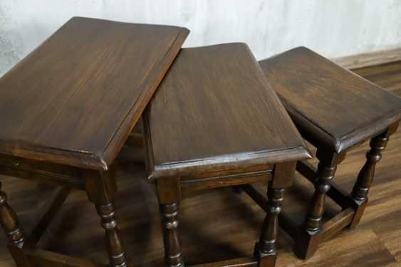 Vintage set of nesting tables - photo 2