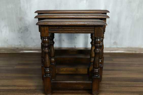 Vintage set of nesting tables - photo 3
