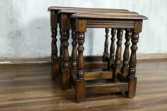 Vintage set of nesting tables - photo 6