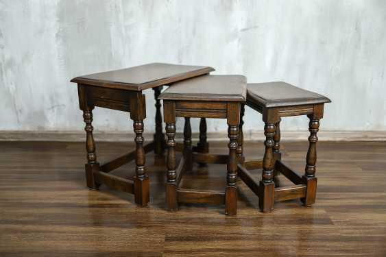 Vintage set of nesting tables - photo 7