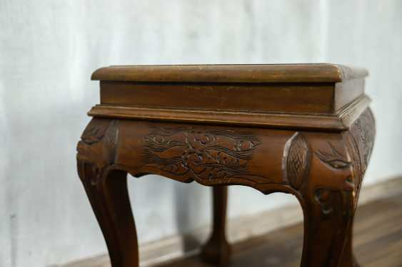 Antique carved side table - photo 6