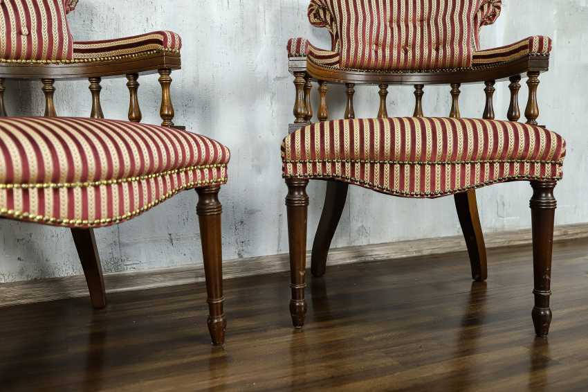 Pair of antique armchairs - photo 7