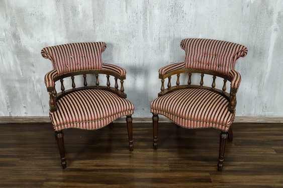 Pair of antique armchairs - photo 9