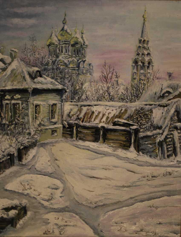 "Alexandra Zhurkina. Fantasy on the theme ""Moscow courtyard"" - photo 1"