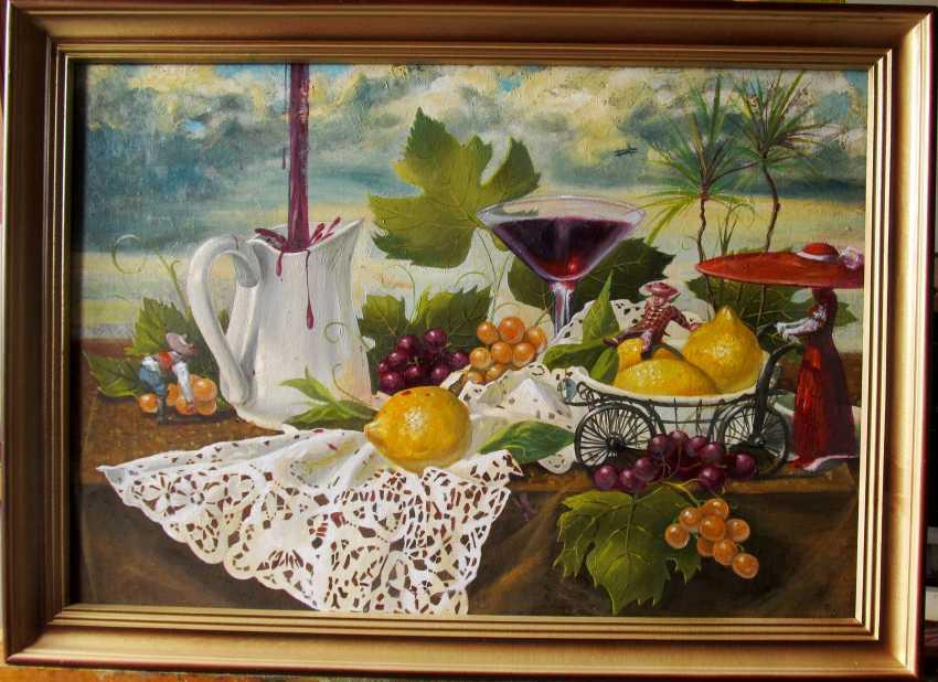 "Sergiy Roy. Still life ""Abundance"". - photo 1"