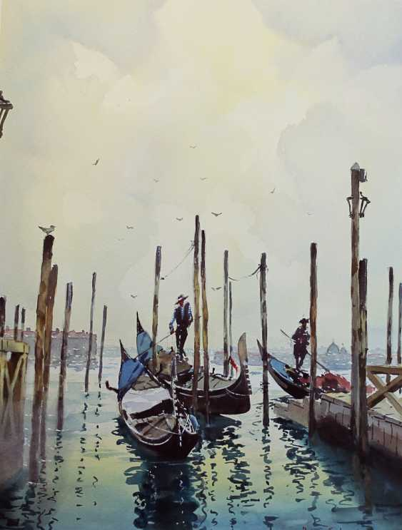 Gabriel Max. Watercolor - photo 1