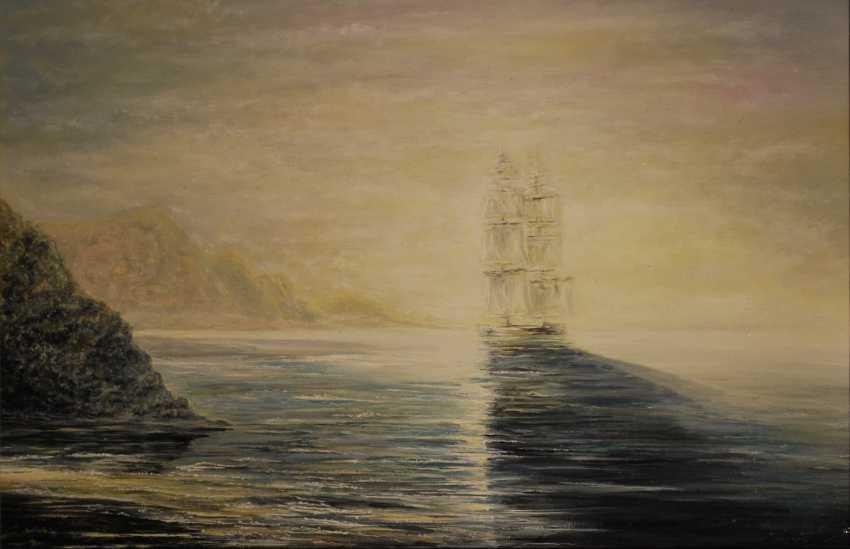 Alexandra Zhurkina. Based on I. Aivazovsky. - photo 1