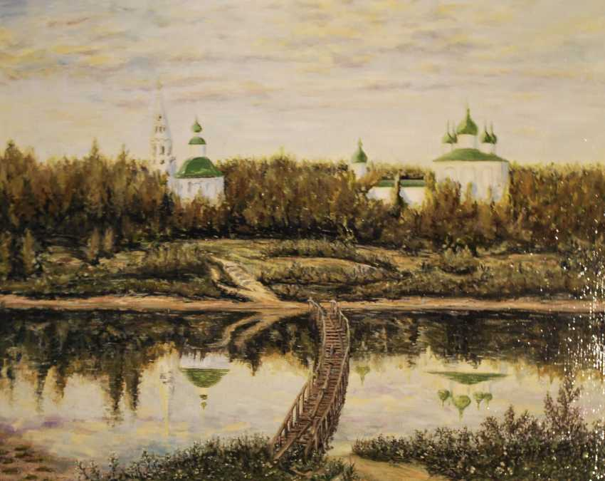 Alexandra Zhurkina. Based on the works of I. Levitan. - photo 1