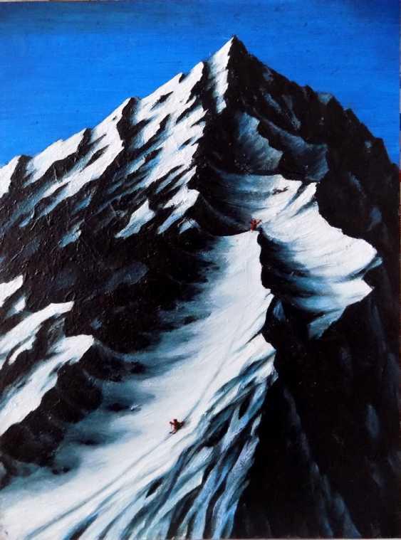 Alex Neint. Snowy mountains - photo 1