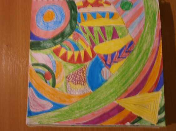 Olga Chernova. Inexpensive painting. Interior. Abstraction. - photo 1