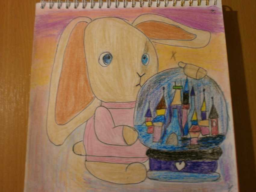 Olga Chernova. Inexpensive painting. Interior. The world in bunny dreams. - photo 1