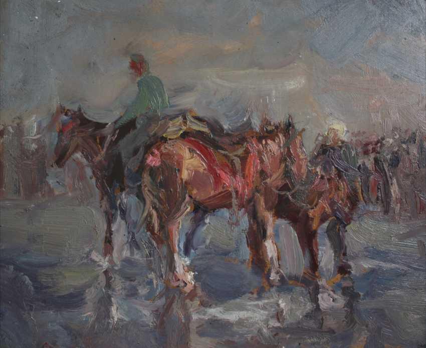 Mikhail Kuzmichenko. Horses - photo 1