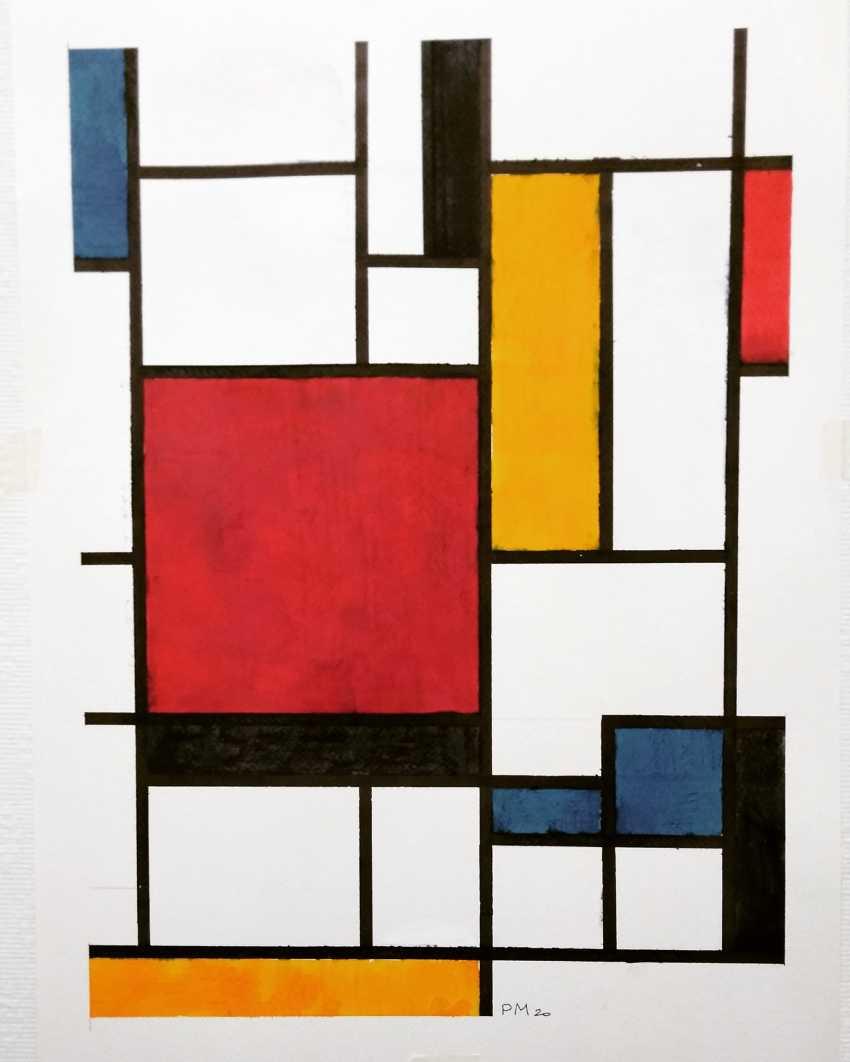 Victor Coq. Mondrian copy - photo 1