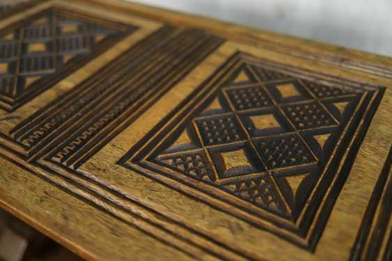 Antique carved side table - photo 5