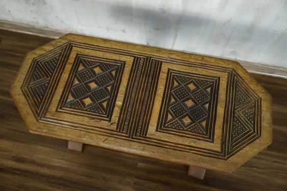 Antique carved side table - photo 9