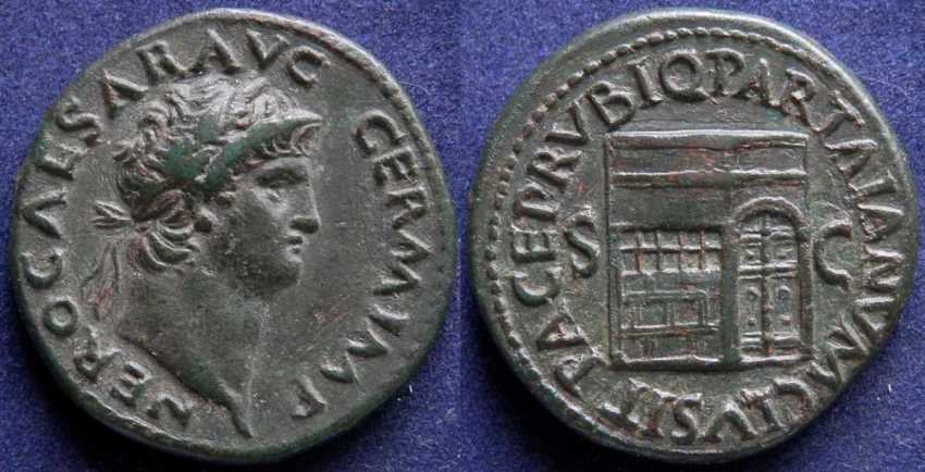 Roman Empire, Nero, 54-68 g - photo 1