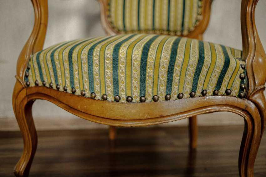 Antiker Sessel - Foto 3