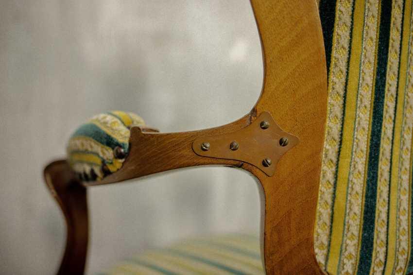 Antiker Sessel - Foto 8