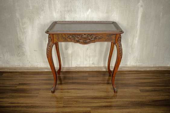 Antique carved side table - photo 2
