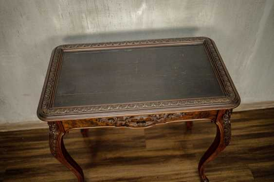Antique carved side table - photo 3