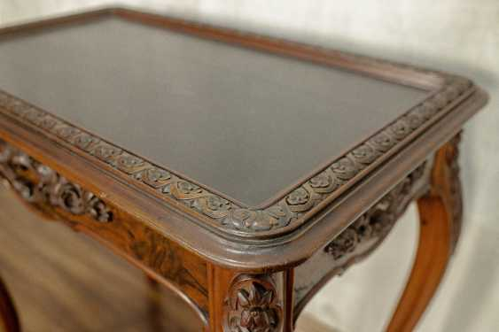 Antique carved side table - photo 8