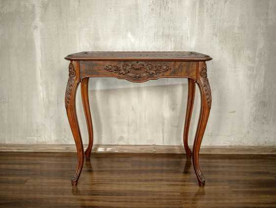 Antique carved side table - photo 10