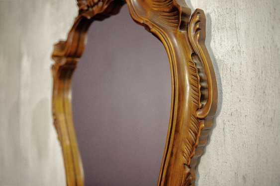 Antique carved mirror - photo 2