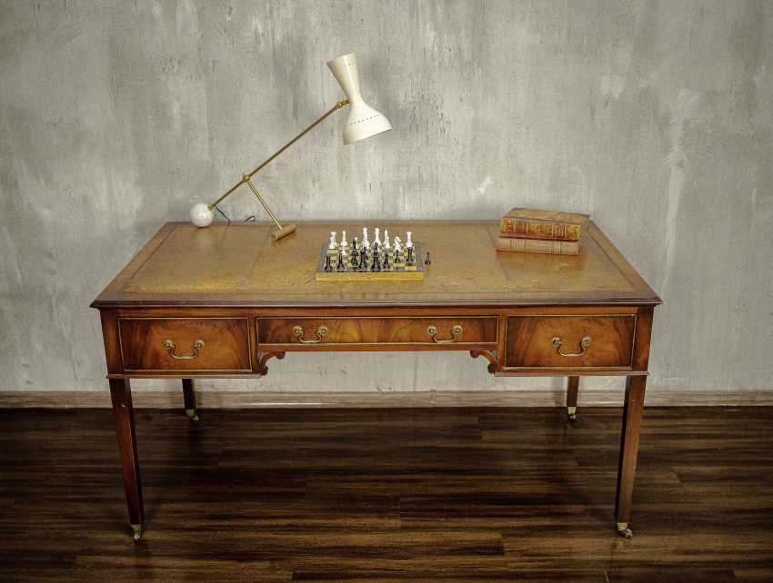 Antique writing desk - photo 3