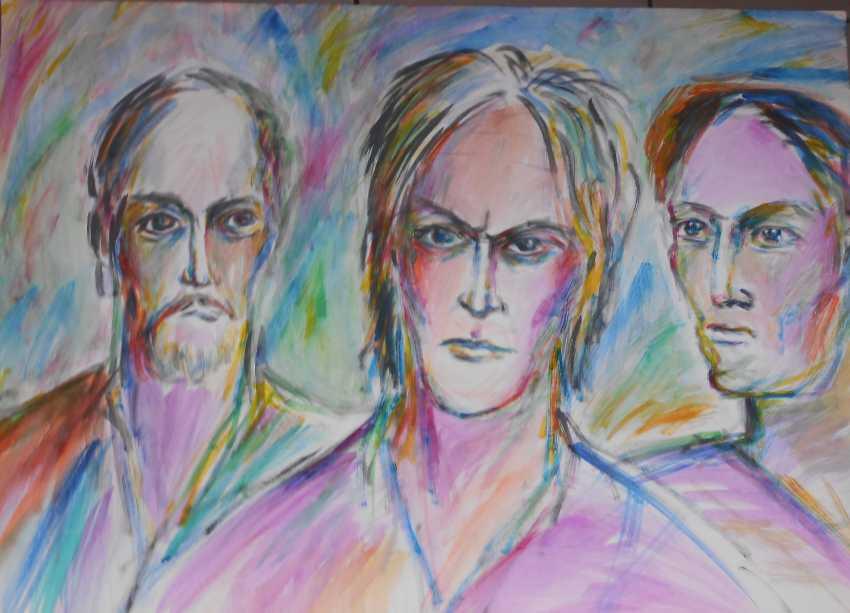 Igor Behter. Male faces - photo 1