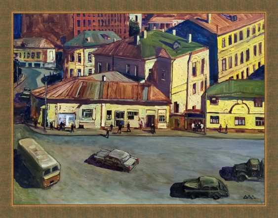"""Dmitry Drozdetski. """"Taganskaya Square"""" - photo 1"""