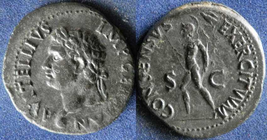 Roman Empire, Vitellius, 69г - photo 1