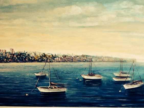 Galina Timofeevskaya. yachts on the Hudson - photo 1