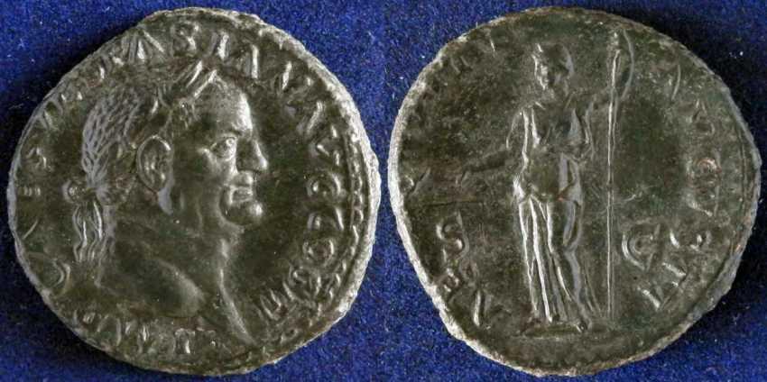 Roman Empire, Vespasian,69-79g - photo 1
