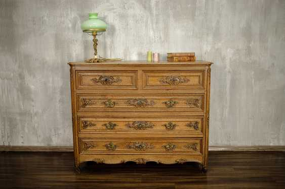 Antique carved chest of drawers - photo 1