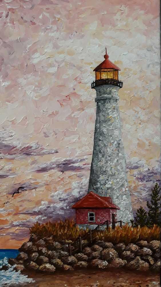 Ella Shevchenko. Lighthouse on Lake Mechigin - photo 1