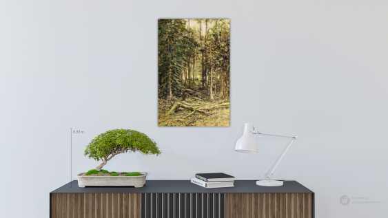 Alexandra Zhurkina. Forest. Based on the works of I. Shishkin - photo 2