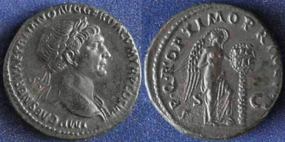Roman Empire, Trajan, 98-117 g - photo 1