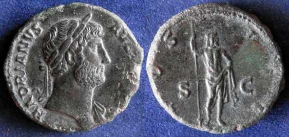 Roman Empire, Hadrian 117-138g - photo 1