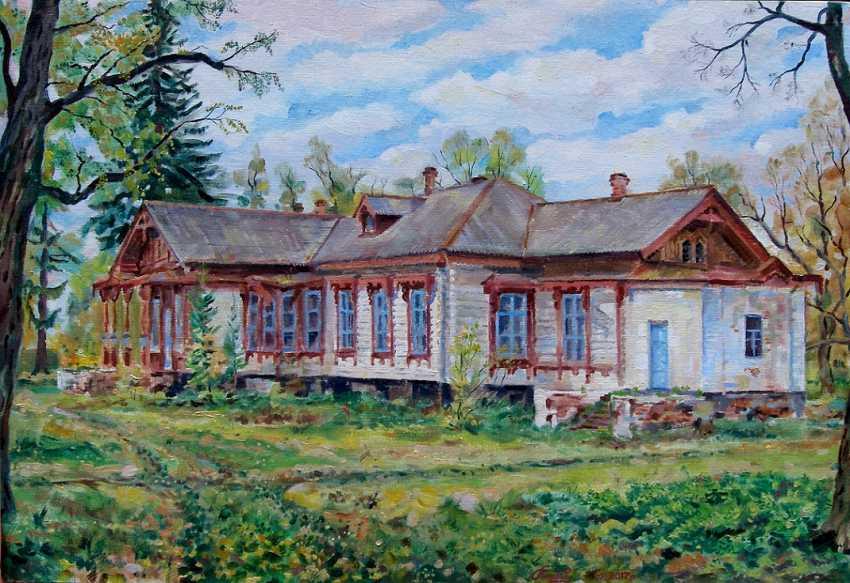 Oleg Lytvynenko. Das Landgut des Landbesitzers in Yaropovichi. - Foto 1