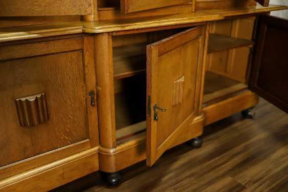 Antique oak bookcase - photo 3