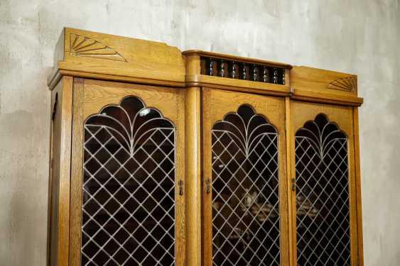 Antique oak bookcase - photo 5