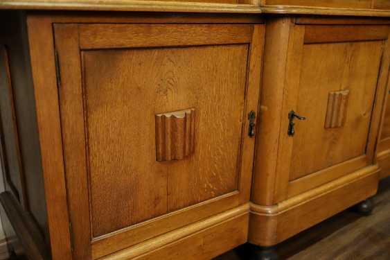 Antique oak bookcase - photo 6
