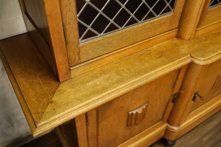 Antique oak bookcase - photo 8