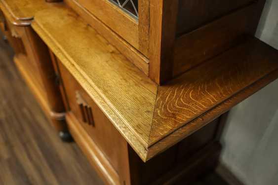 Antique oak bookcase - photo 9
