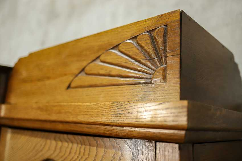 Antique oak bookcase - photo 10