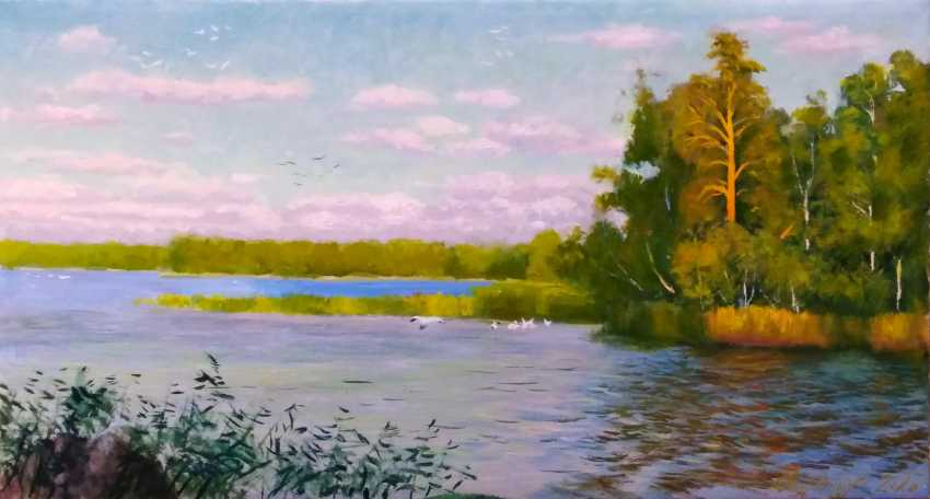 Alexander Bezrodnykh. Evening on the lake - photo 1